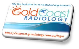 Gold Coast Radiology Patient Card